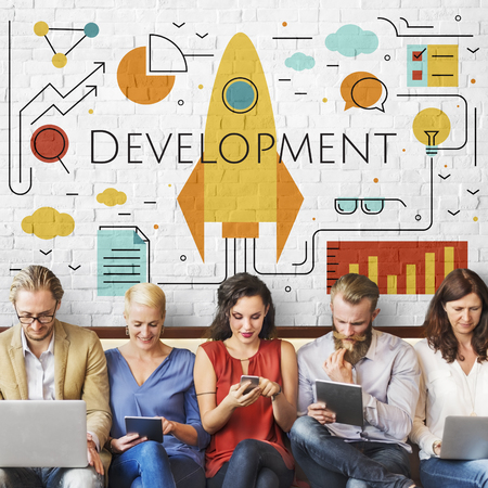 Business Objectives Goals Progress Improvement Concept Imagens