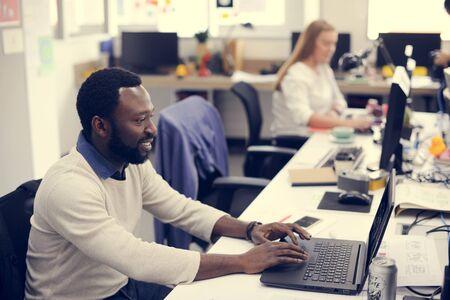 Startup Business People Working in Office Zdjęcie Seryjne - 81688725