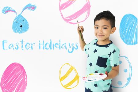 Easter Break Holiday Season Celebration Stock fotó - 81585717