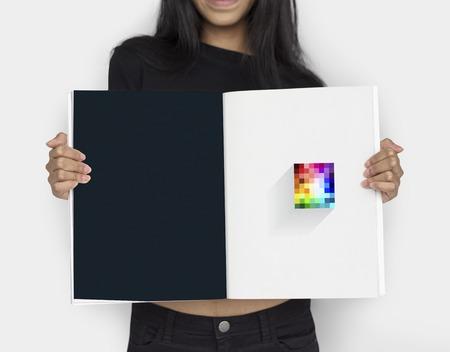 Kunst Design Kreative Bunte Grafik Standard-Bild - 81585774