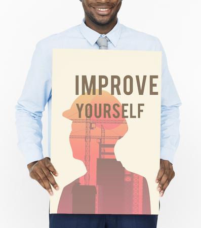 Motivation Message Quotation Aspiration Graphic Stock Photo - 81586014