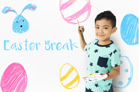 Easter Break Holiday Season Celebration Stock fotó - 81595619