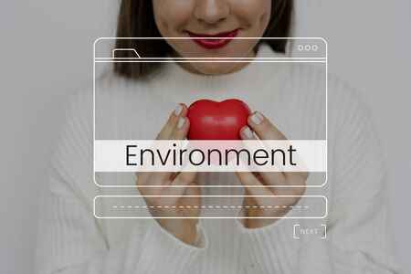 Save The World Nature Environment Sustainability Graphic Banco de Imagens