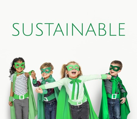 Sustainable Environment Resposibility Recycle Word