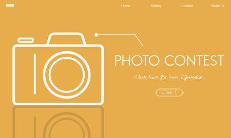 Photo Contest Passion Image Memory Word Stock Photo