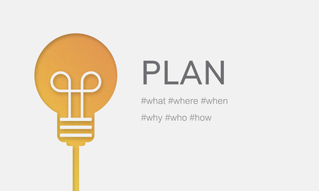 계획 프로세스 미션 전략 전술 스톡 콘텐츠