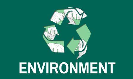 Behoud van het behoud van het milieu Save Earth Stockfoto