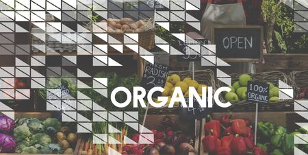 Healthy food organic fresh farmer products
