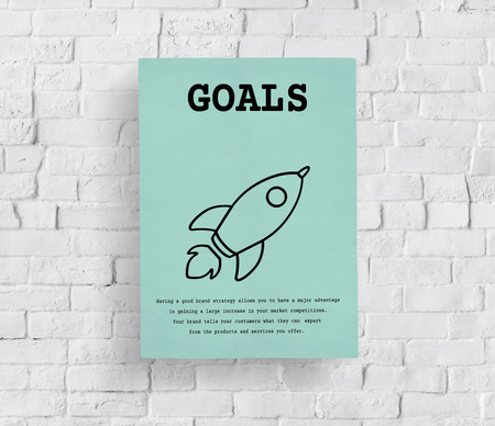 Rocket Launch Spaceship Icon Innovatie Stockfoto