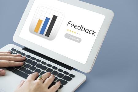 Illustration of application user feedback response