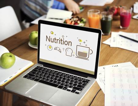 coworker: Balance Diet Healthy Nutrition Concept