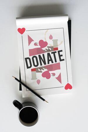 Bloeddonatie redt levensconcept Stockfoto