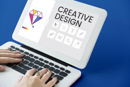 그래픽 디자인 아이콘 크리 에이 티브 스타일