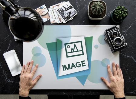 Illustration of Image Gallery Photo Memory