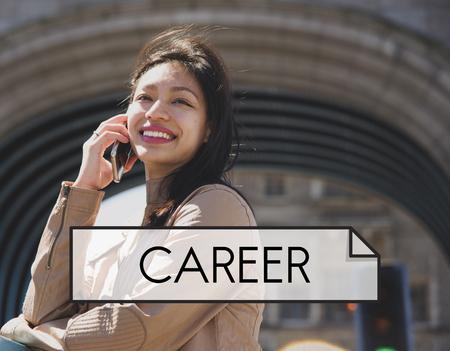 Career Employment Human Resources Job Work Фото со стока