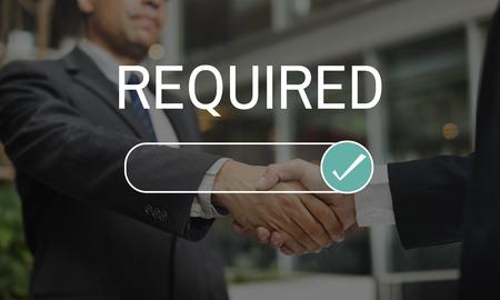 요구 된 비즈니스 요구 선택