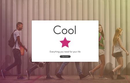 Cool Style Fashion Sense Trendy Stock Photo