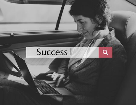 Success Mission Achievement Gzrowth Business Word Stock Photo - 81655948