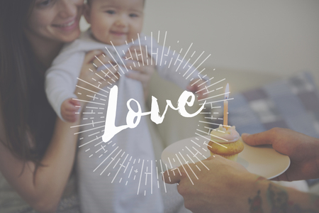 Family Spending Quality Time Together Unconditional Love Stock Photo