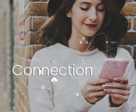 techie: Global Network Online Communication Connection