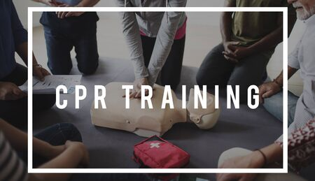 CPR Training Demonstratie Klasse Noodlevens Rescue Stockfoto