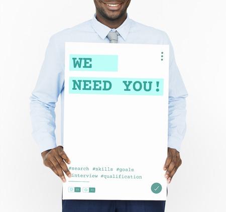 Job Carriere Hiring Recruitment Qualification Graphic