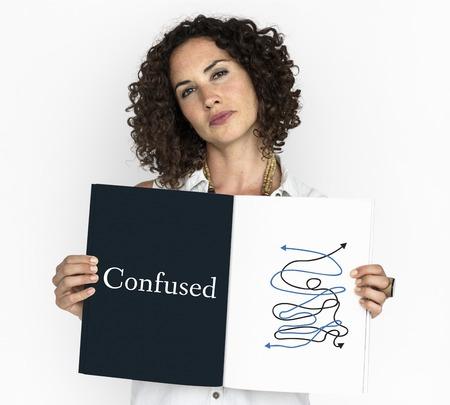 Confundido Desordenado Caos Situación Crítica Word Graphic Foto de archivo - 81717285