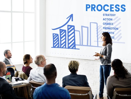 Business people meeting business strategy plan