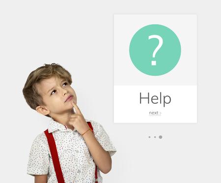 FAQ Klantenservice Help Ondersteuning Uitroep Grafisch