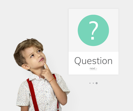Graphic of question mark asking symbol Imagens - 81718727