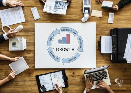 ビジネスベンチャー成功図コンセプト