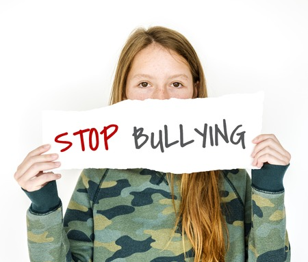 Stop bullying aggressive force behaviour