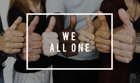 We All One concept