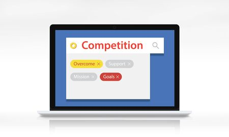 Competition contest keyword tag search