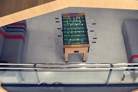 フーズボールのテーブル サッカー ゲーム レクリエーション レジャー