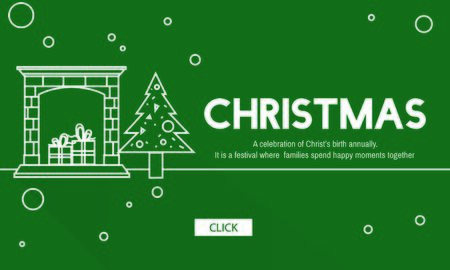 Christmas Celebration Holiday Santa Clause Concept
