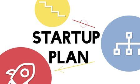 기업가 정신 계획 성공 아이콘