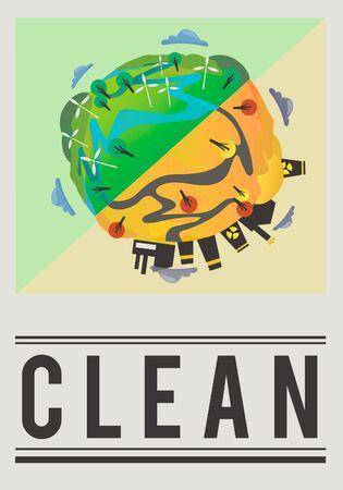 Salva il mondo Planet Earth Concept Archivio Fotografico - 81736438