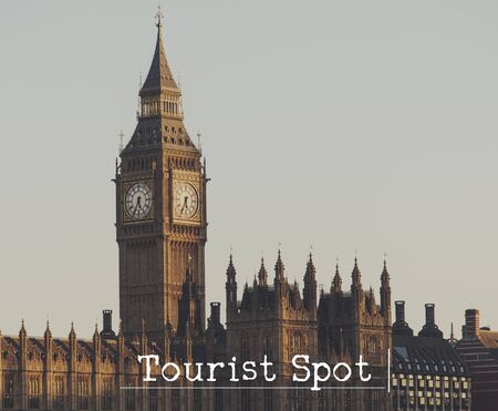 Tourist Attraction Spot Sightseeing Concept 版權商用圖片