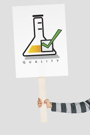 solo: Best Quality Guarantee Assurance Concept Stock Photo