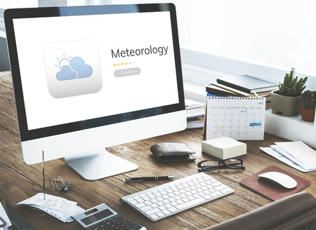 Weather Forecast Meteorology Application Concept