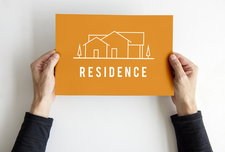House Residence Real Estate Property Investment Stock Photo
