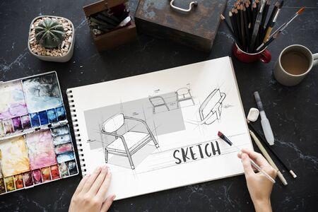 브레인 스토밍 팀웍 공유 스케치 디자인