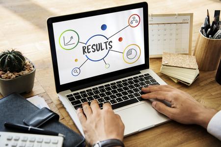 Business Result Diagram Illustration Concept Stock Illustration - 81767609