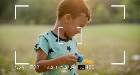 Graphic of camera lens focus photography Фото со стока