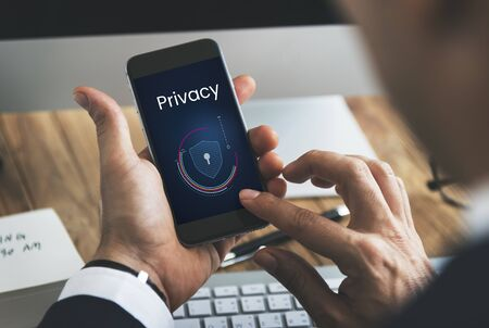 Data protection digital electronic privacy Фото со стока