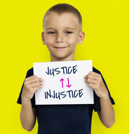 Justice Judge Law Moral Violence Injustice Stock Photo
