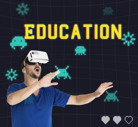techie: Playful Entertainment Recreation Activities Fun Stock Photo
