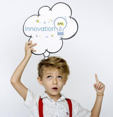 Innovation Bulb Icon Sign Symbol Stock Photo