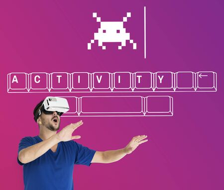 techie: People enjoying and playing fun game